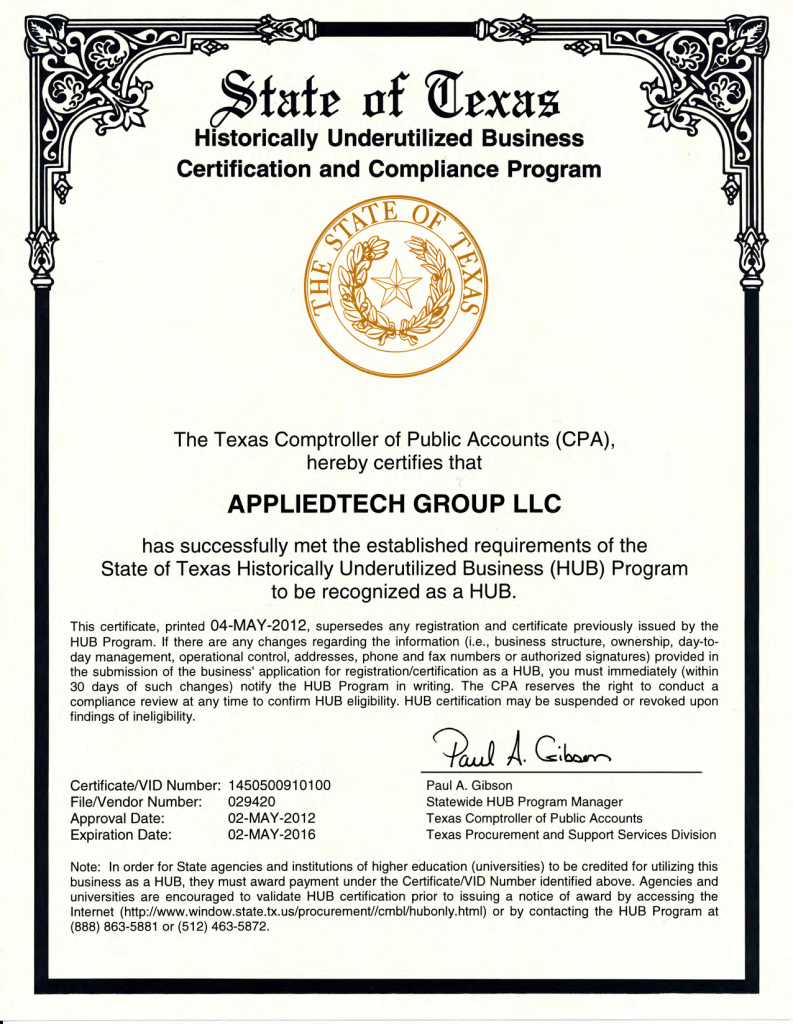 Certifications appliedtechgroup atg hub certificate 1betcityfo Image collections